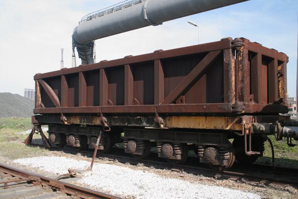 Wagon voor het vervoer van schot
